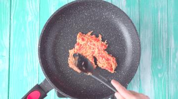 бризоль на сковороде