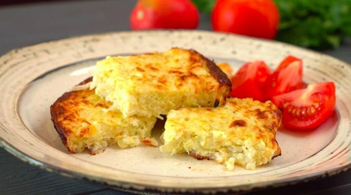 Рецепт Запеканки из кабачков с сыром в духовке
