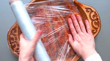 пищевая плёнка на скумбрии