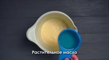 растительное масло в тесто