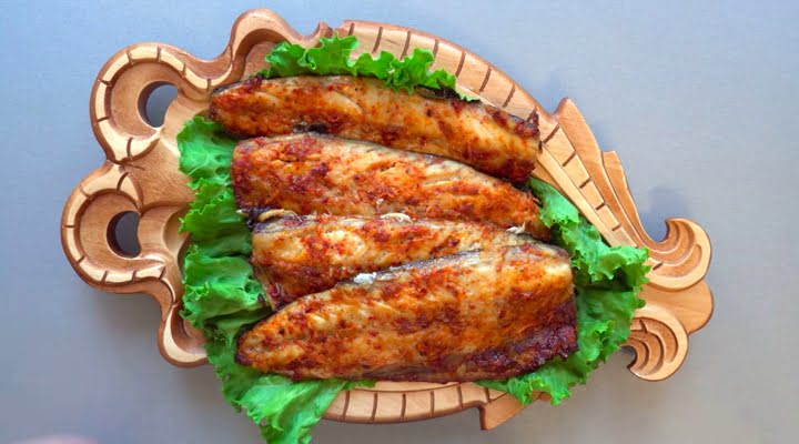 Рецепт скумбрии в маринаде запеченной в духовке
