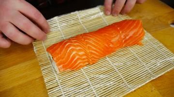 рыба на ролл