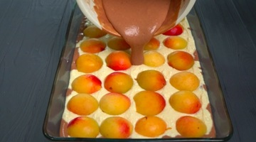 тесто с абрикосами