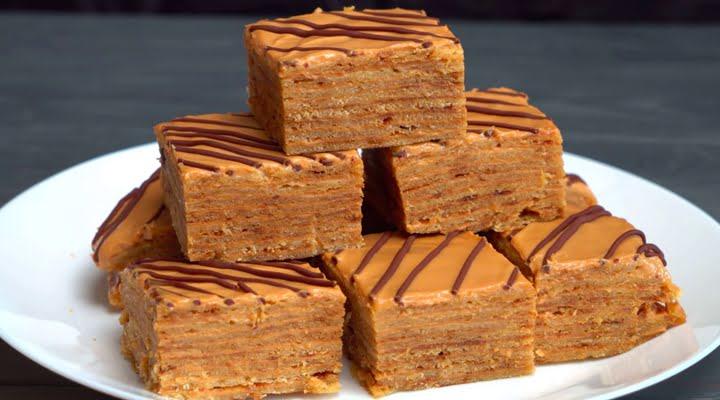 Медовик рецепт приготовления торта на сковороде со сметанным кремом