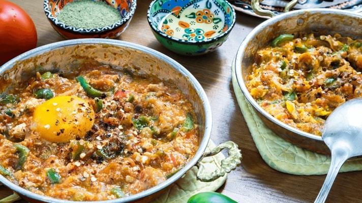 Менемен - рецепт турецкого омлета с овощами