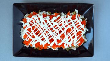 морковь и майонез