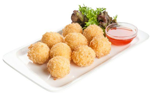 Рецепт сырных шариков приготовленных во фритюре